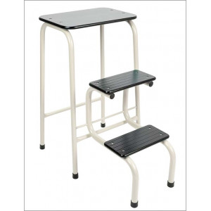 Blackheath stool cream + black ferrules