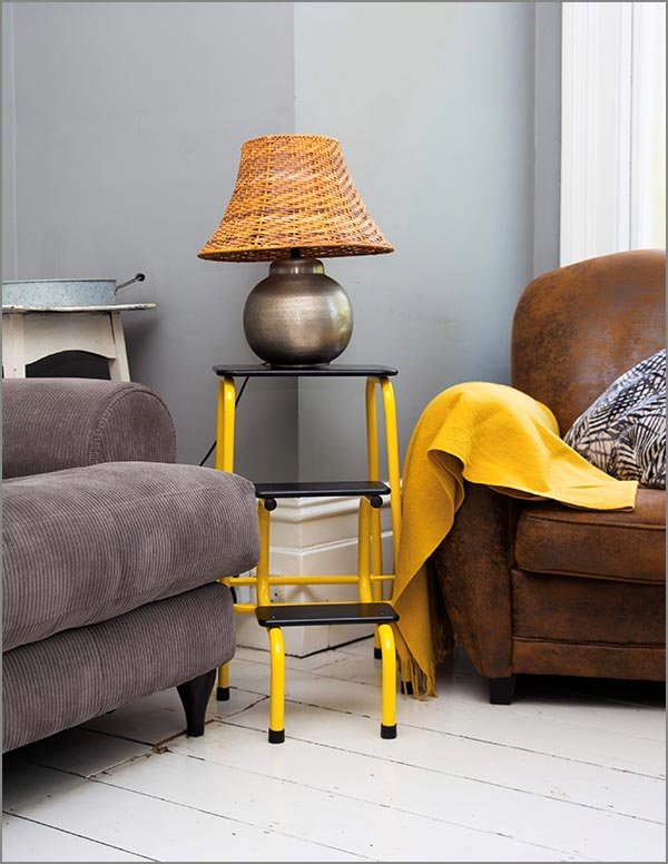 Blackheath stool in yellow
