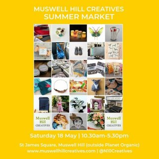 Muswell Hill Creatives summer market