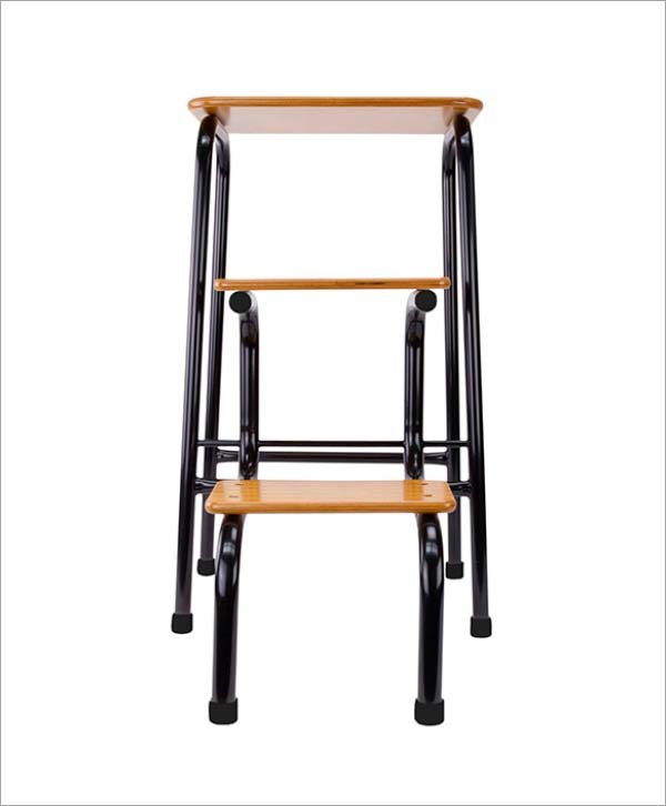 Giggy & Bab Hornsey stool in black