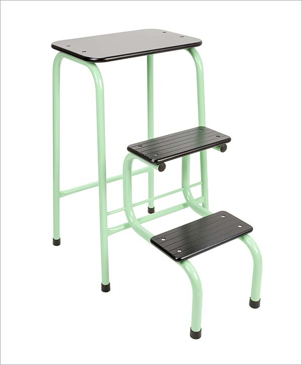 Giggy & Bab Blackheath stool in mint green