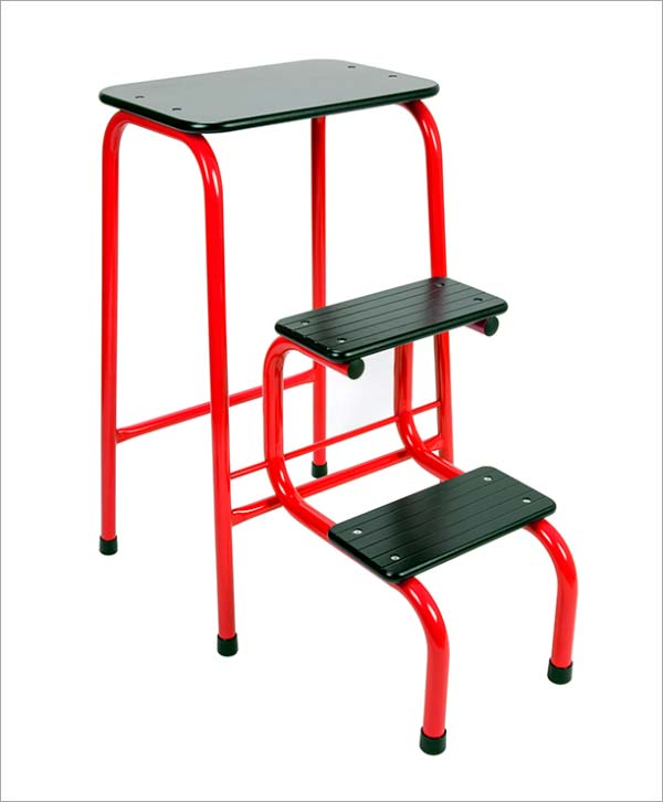 Giggy & Bab Blackheath stool in red