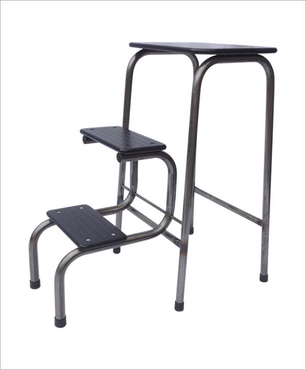 Giggy & Bab Blackheath stool in steel