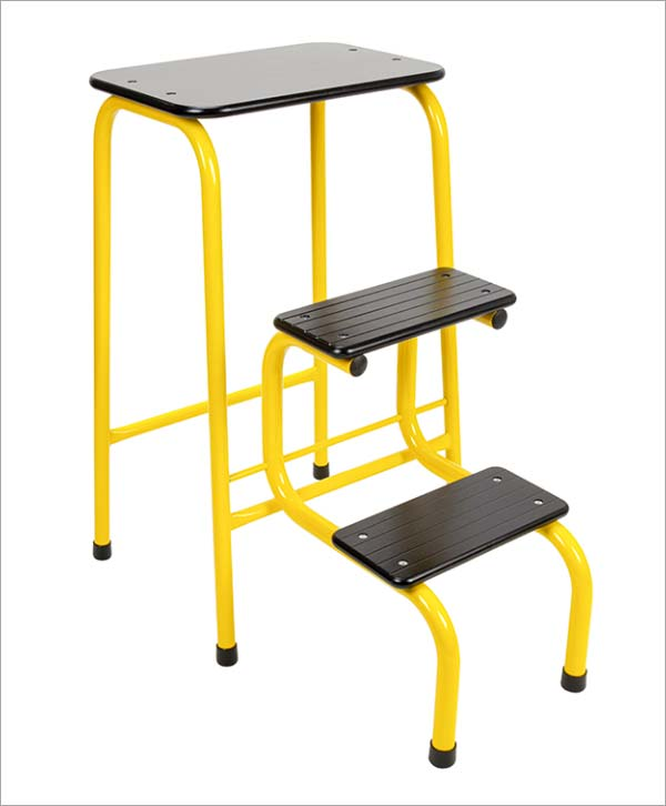 Giggy & Bab Blackheath stool in yellow