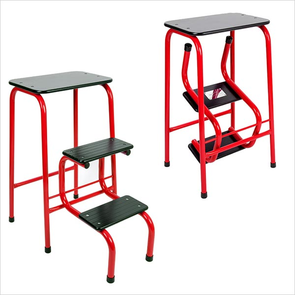 Blackheath stool in red