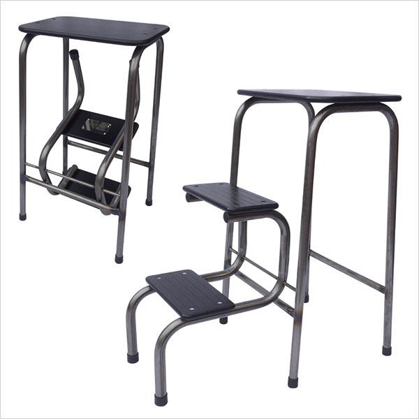 Blackheath stool in steel