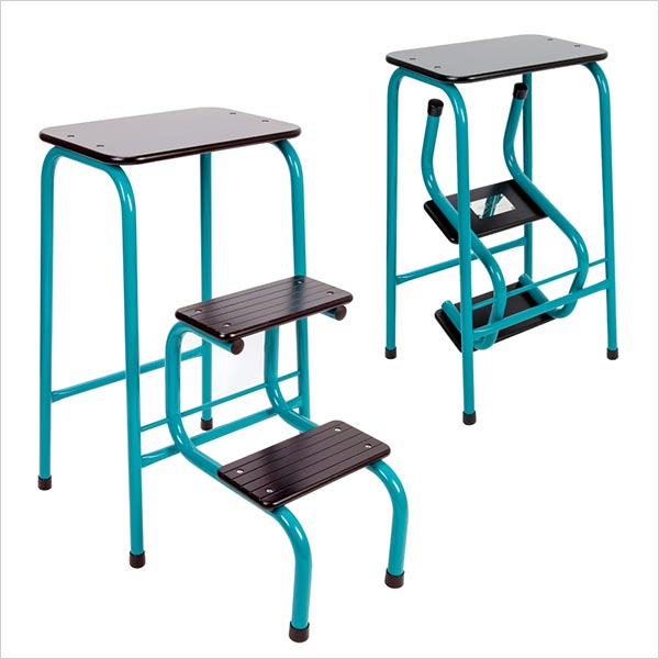 Blackheath stool in teal