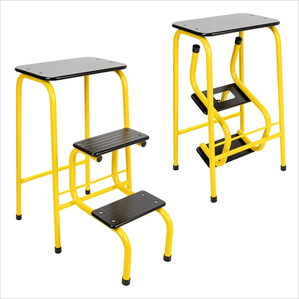 Blackheath stool in yellow